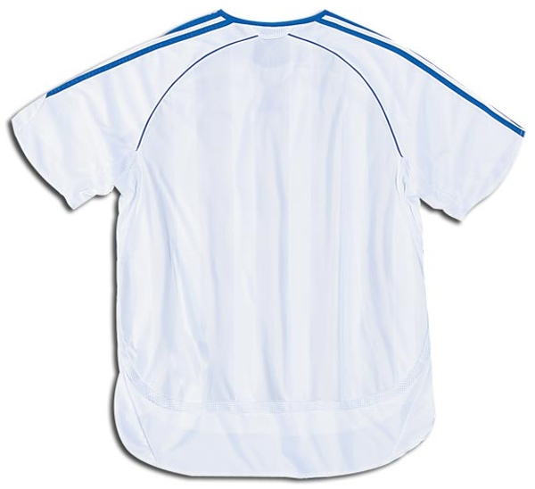 wholesale dealer 01614 4ba13 Chelsea Jerseys: 2006-2007 white and blue away jersey picture