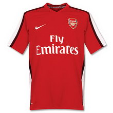 Arsenal home 2008-2009 soccer Jersey