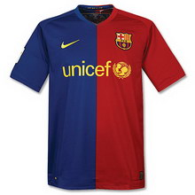 FC Barcelona home 2008-2009 soccer Jersey