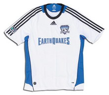 San Jose Earthquakes away 2008 soccer Jersey
