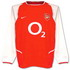 Arsenal 2004 2004 home Jersey, long sleeve
