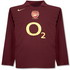 Arsenal 2006 2006 home Jersey, long sleeve retro