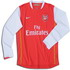 Arsenal 2007 2007 home Jersey, long sleeve