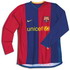 FC Barcelona 2007 2007 home Jersey, long sleeve