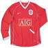 Manchester United 2007 2007 home Jersey, long sleeve