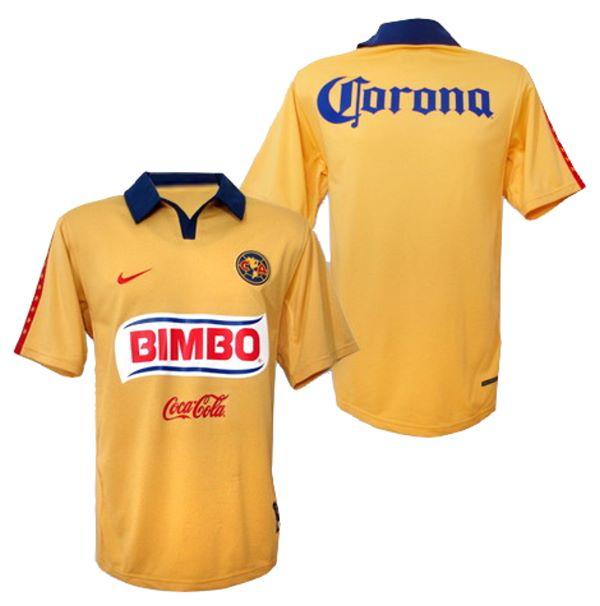 new concept 64da5 6544e Club America Jerseys: 2006-2007 home soccer jersey picture.