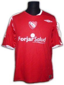Independiente   soccer Jersey